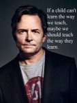 Well said Michael J Fox